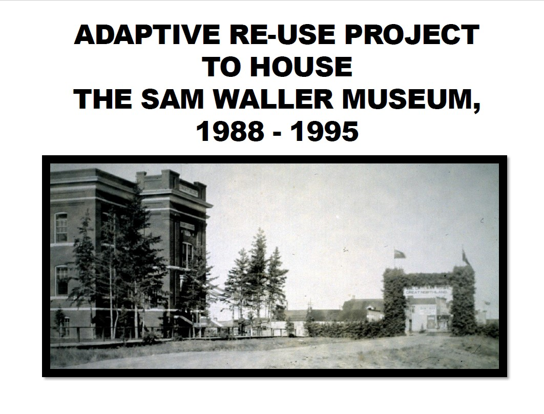 Adaptive Re-Use of a Heritage Building for Museum Purposes