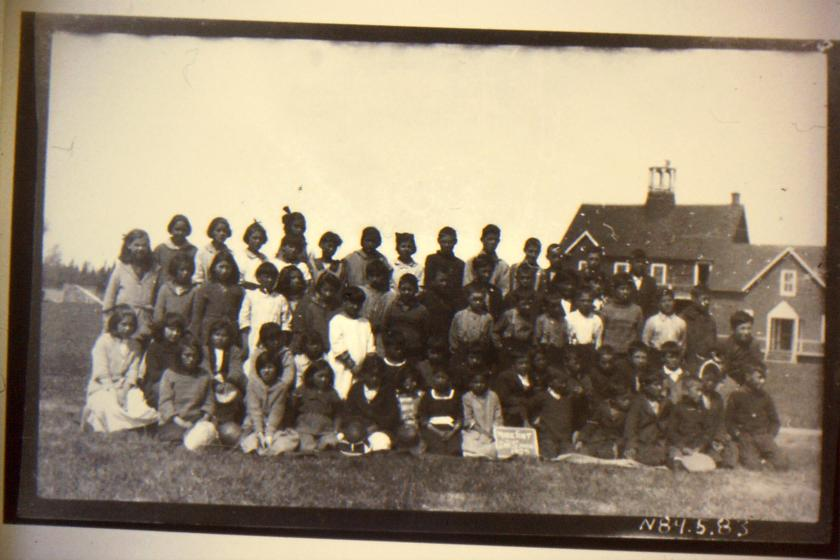 students at St. Thomas Mission Residential School