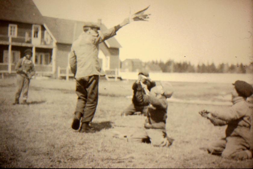 boys at play