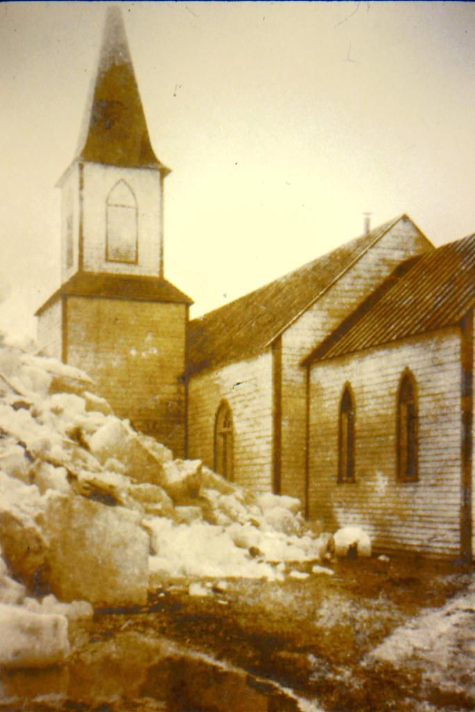 Anglican church at Moose Factory