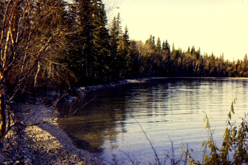Clearwater Lake beach at Guy Hill