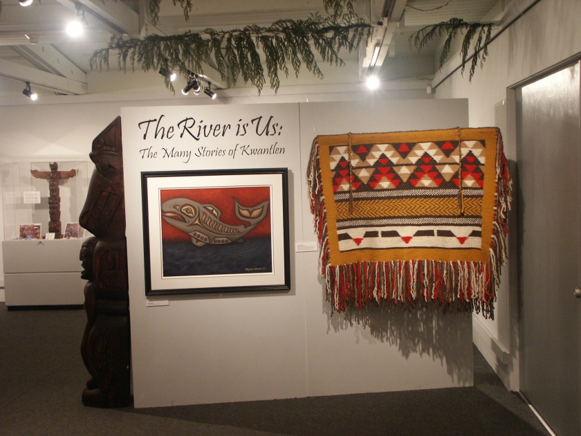 entrance to the Kwantlen exhibit