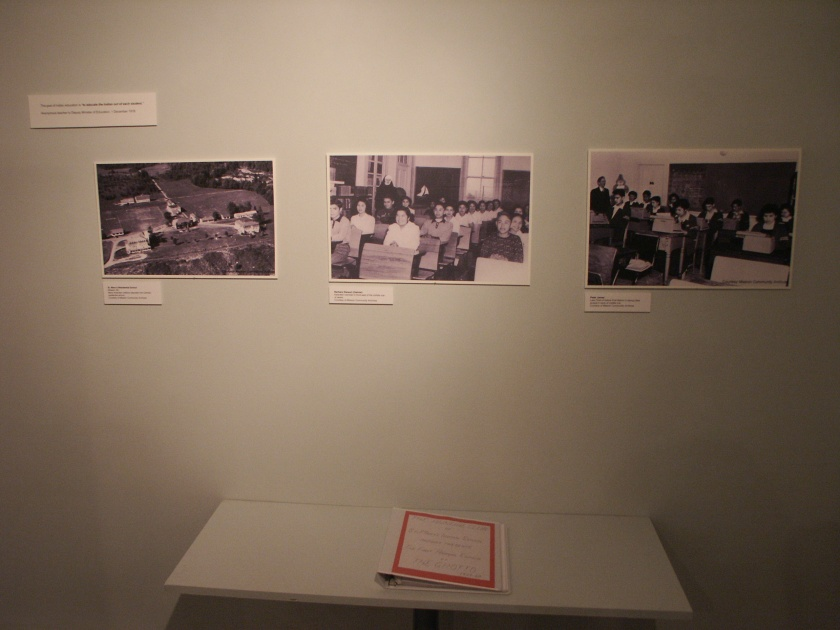 photos from St. Mary's Residential School