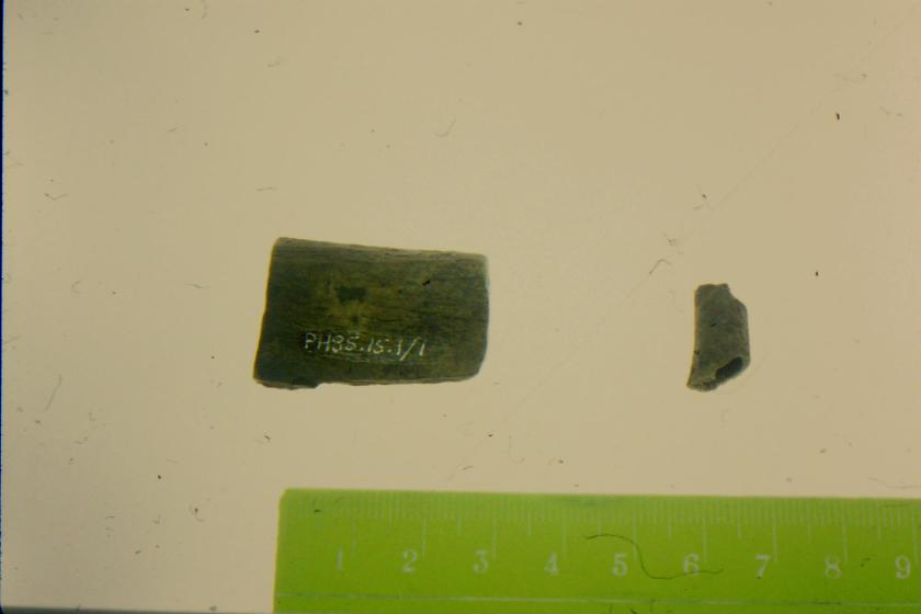 All 19 preceding slides were salvaged from the Henry Highway house site on the Opaskwayak First Nation Reserve.