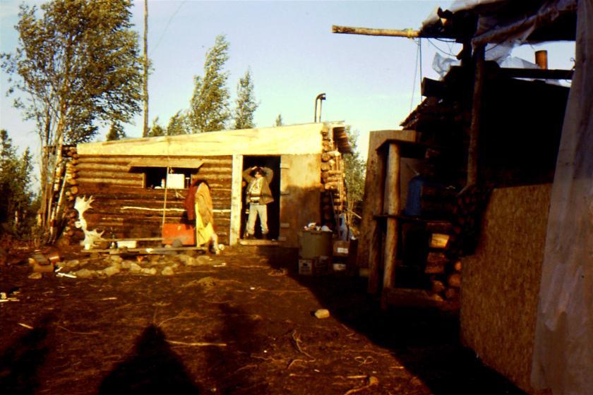 cabin at the base camp