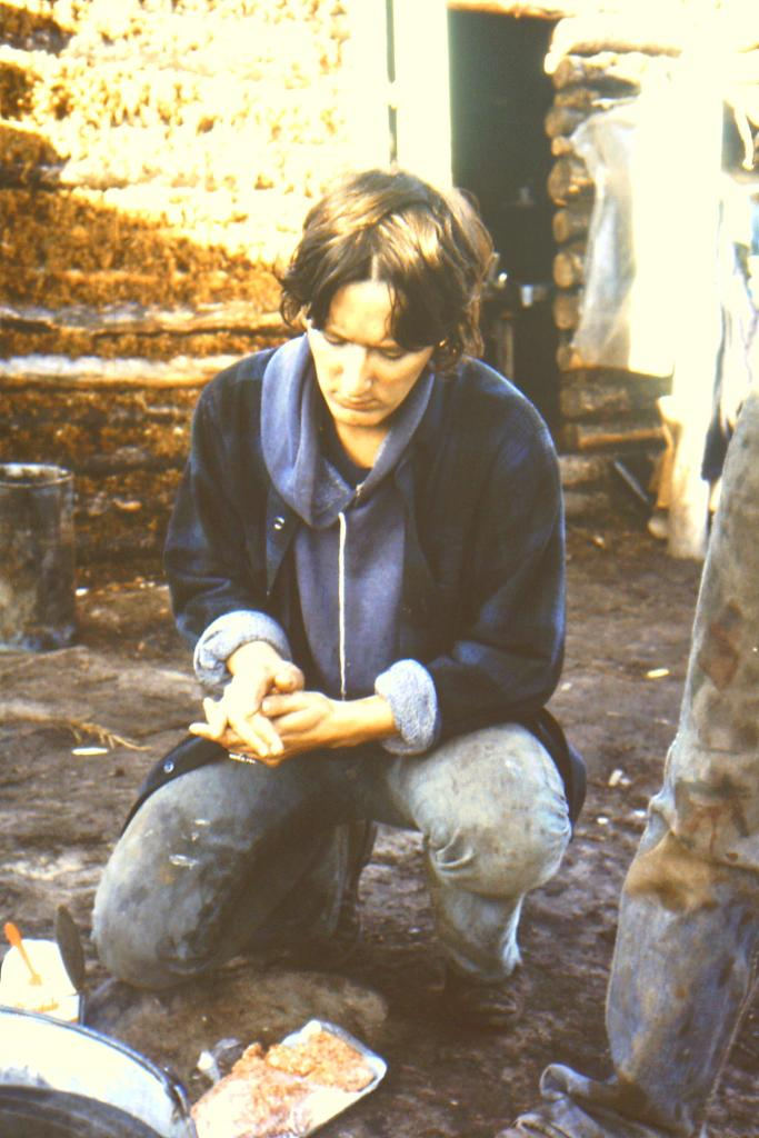 Kathy, camp cook