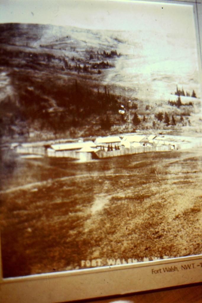 Photo of Fort Pitt, 1885.