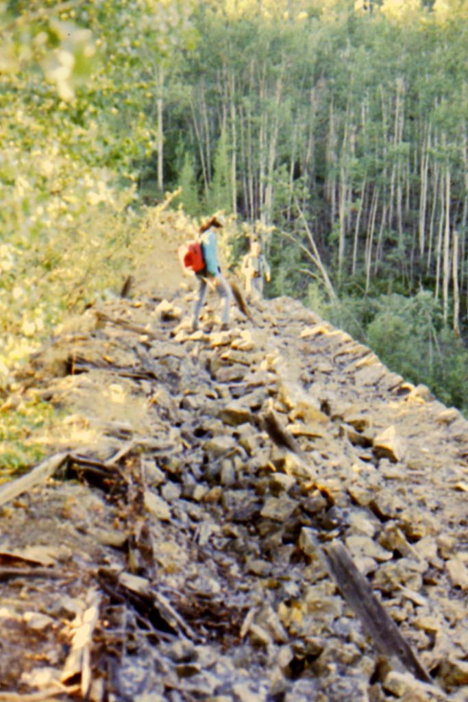 top of dam