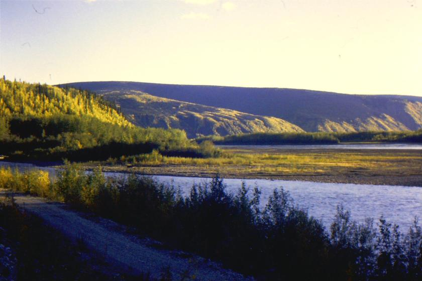 mouth of the Klondike River