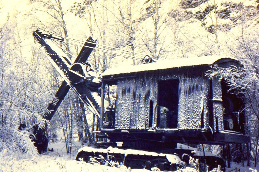 abandoned stem shovel