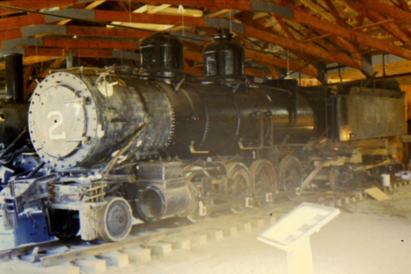 steam locomotive # 2