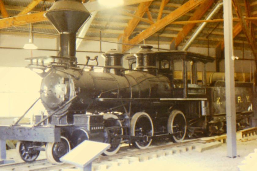 Brooks Mogul locomotive