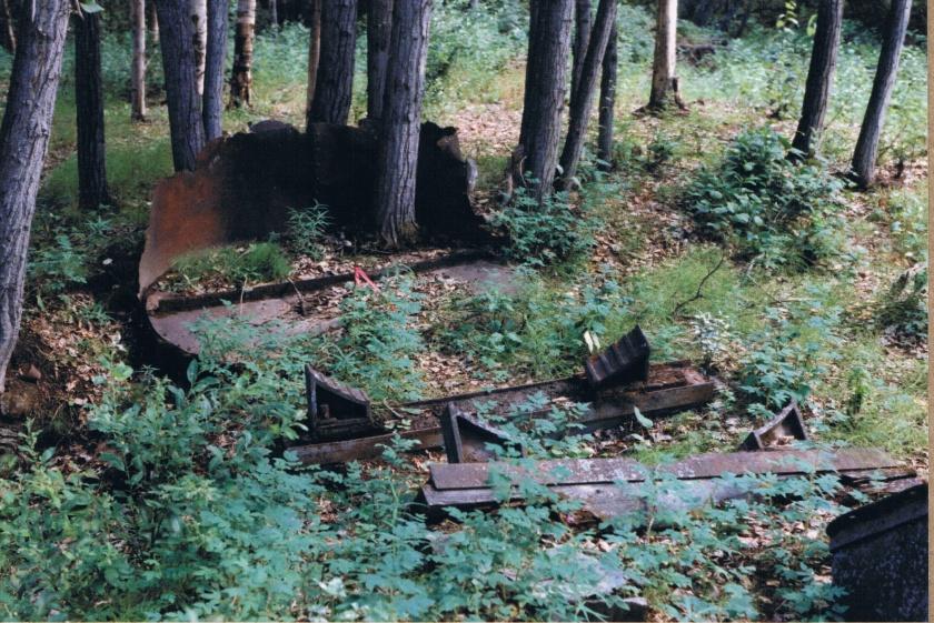 historic remains on Klondike City site