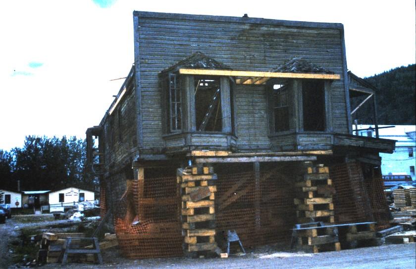 Guns & Ammo Building under restoration